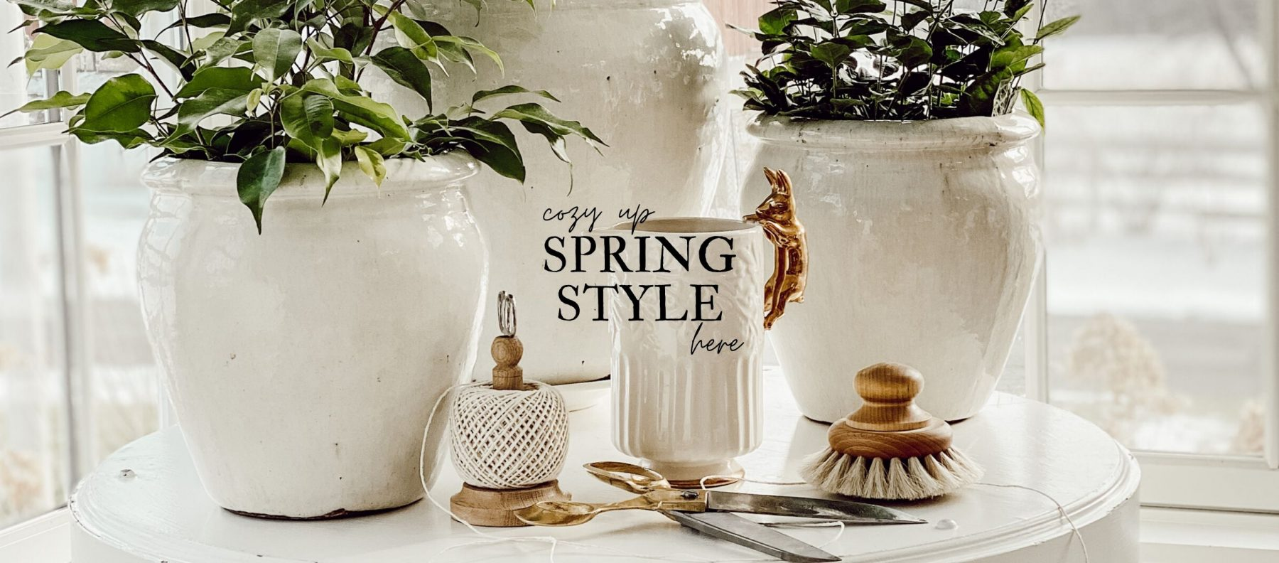 Cozy Up Spring Style Inspiration