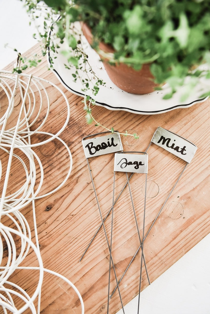 DIY Plant Markers