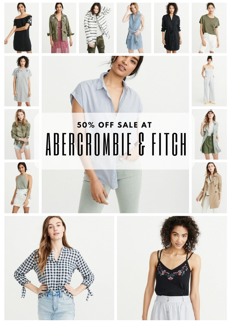 Abercrombie 50% Off Sale