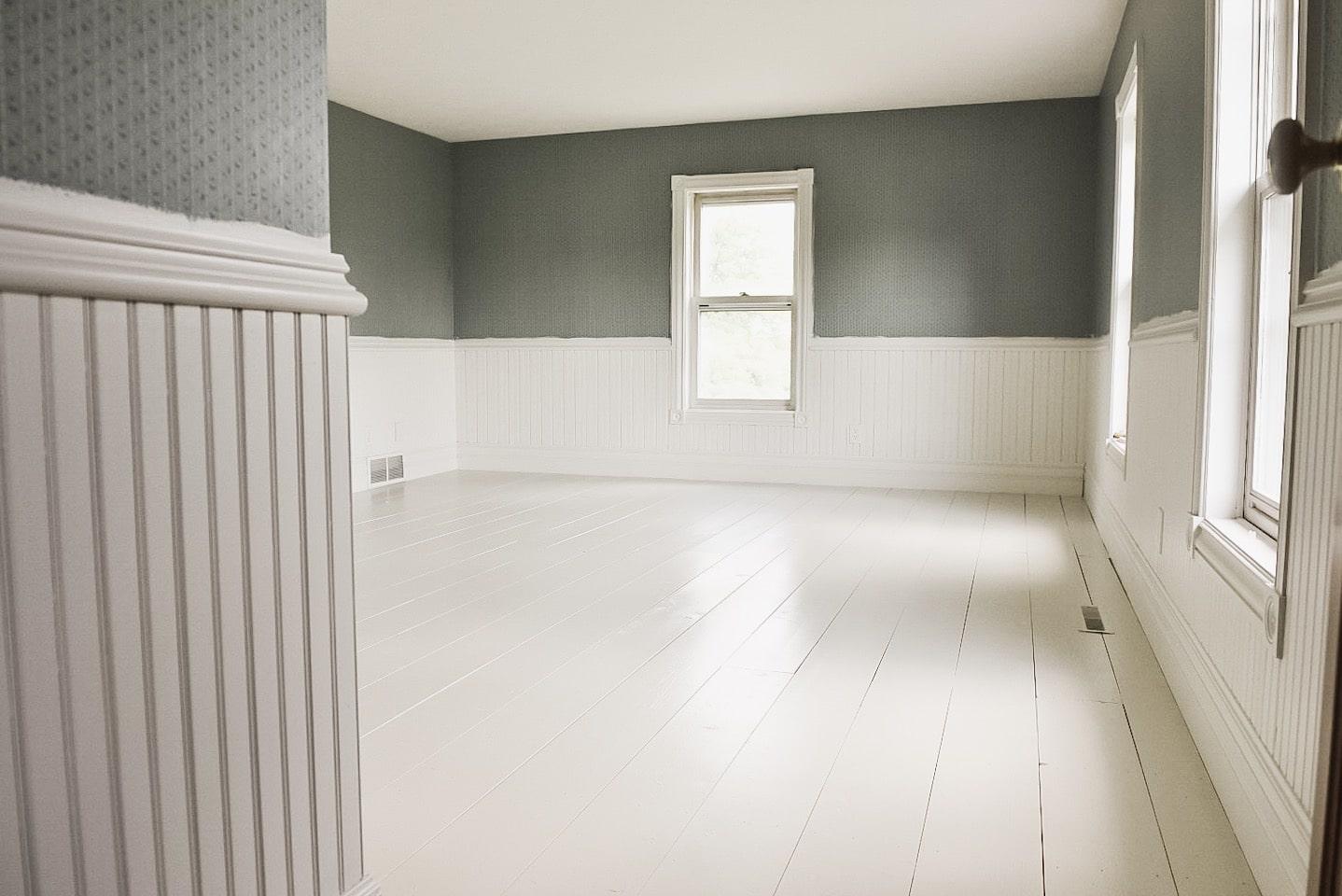 Guest Bedroom Floor Makeover