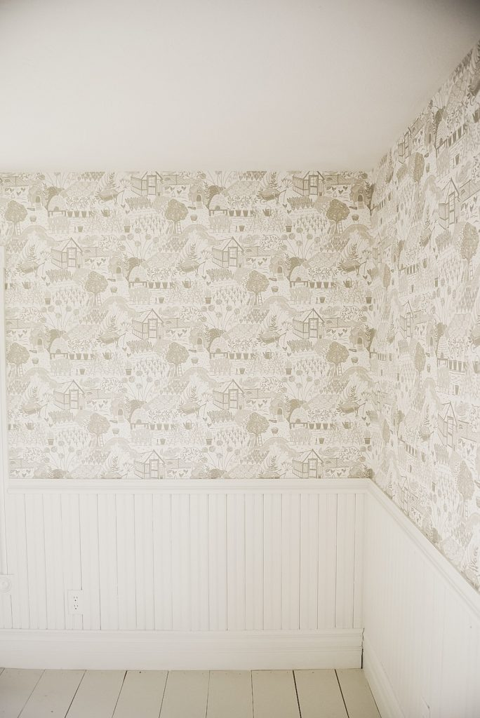 bedroom wallpaper, Guest Bedroom Wallpaper Reveal