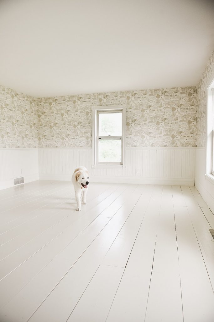 Guest Bedroom Wallpaper Reveal - Liz Marie Blog