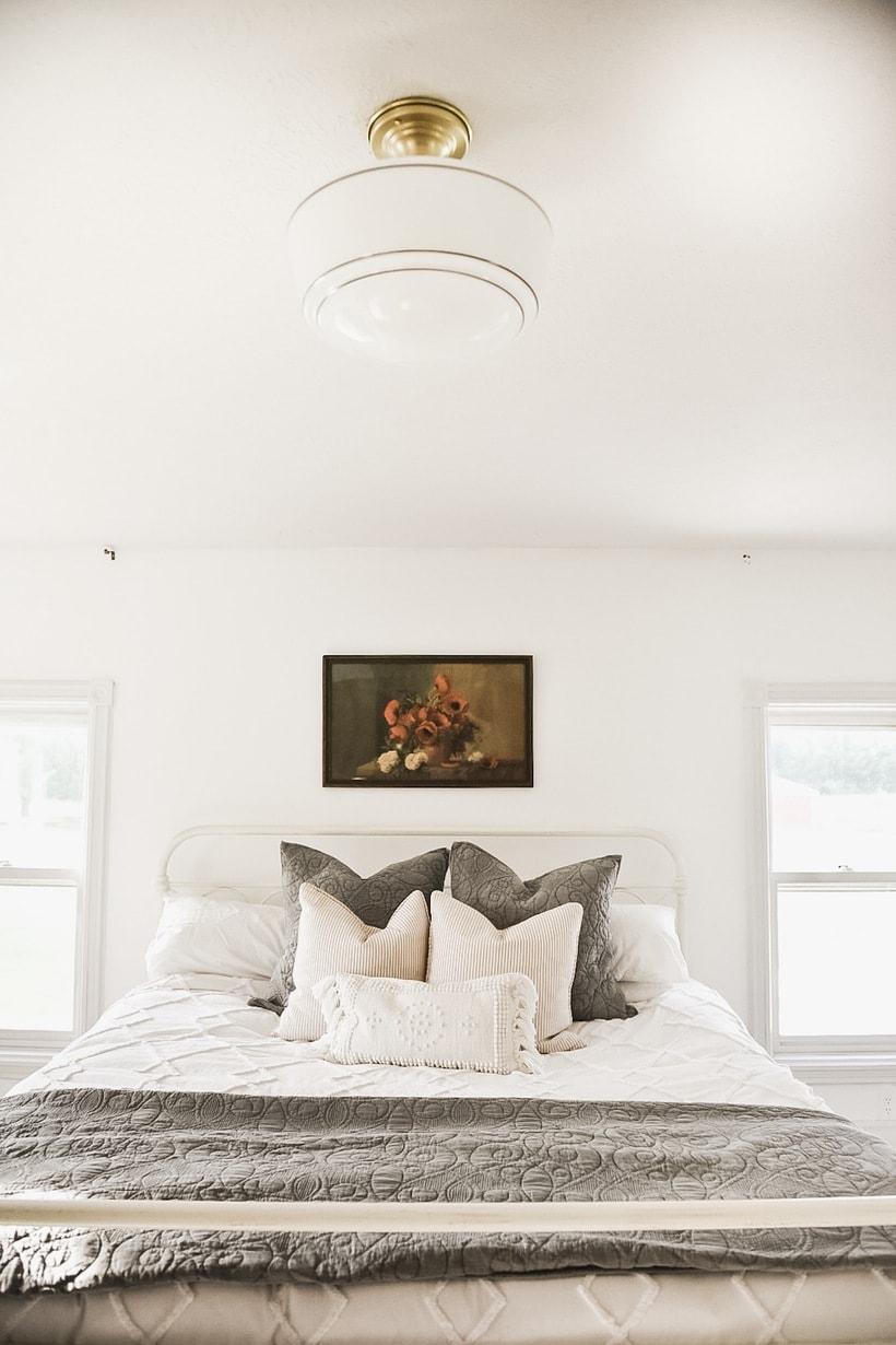 Master Bedroom Makeover – New Bedroom Lights