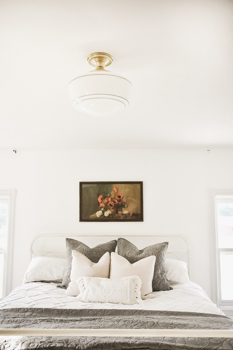 Master Bedroom Makeover – New Bedroom Lights