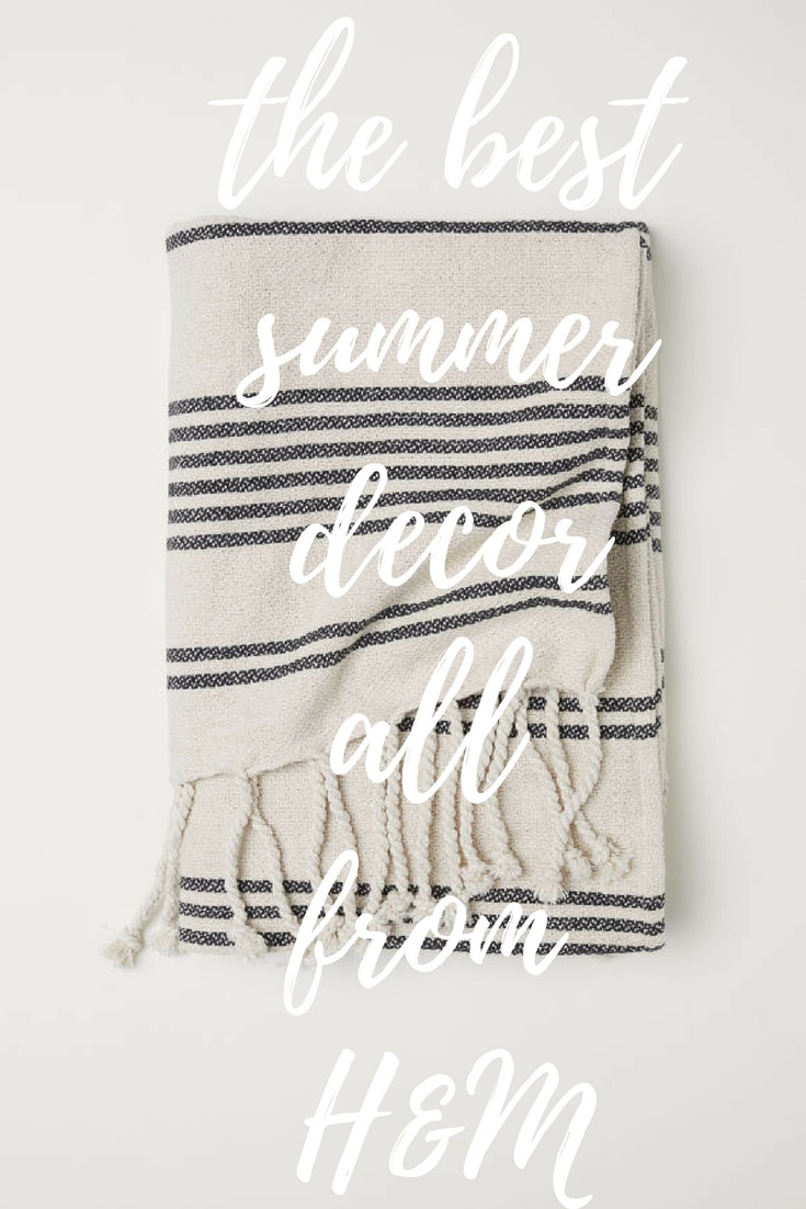 Fresh Summer Decor from H&M