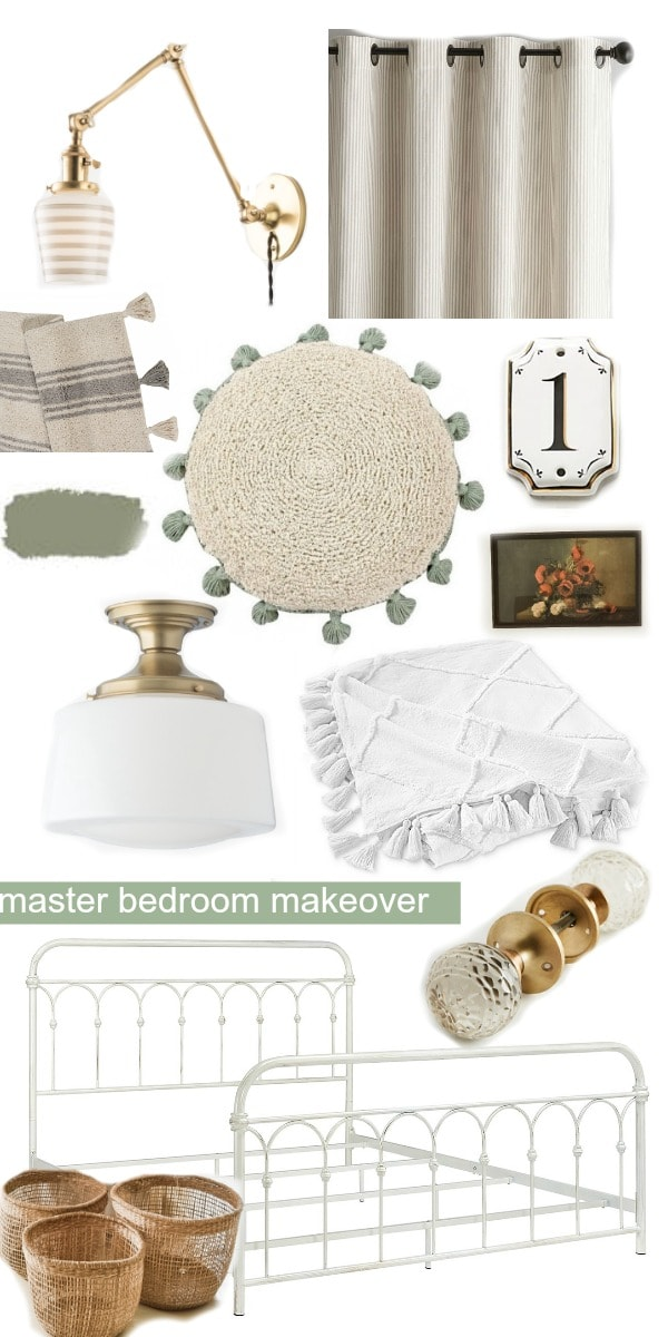 Master Bedroom Makeover – Mood Board