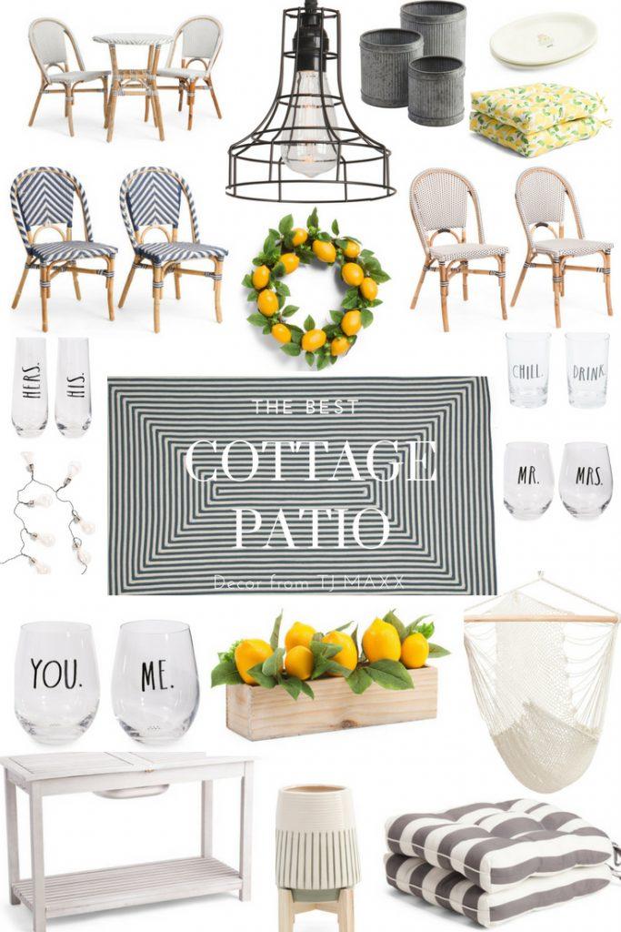 cozy cottage patio decor, The Best Cozy Cottage Patio Decor