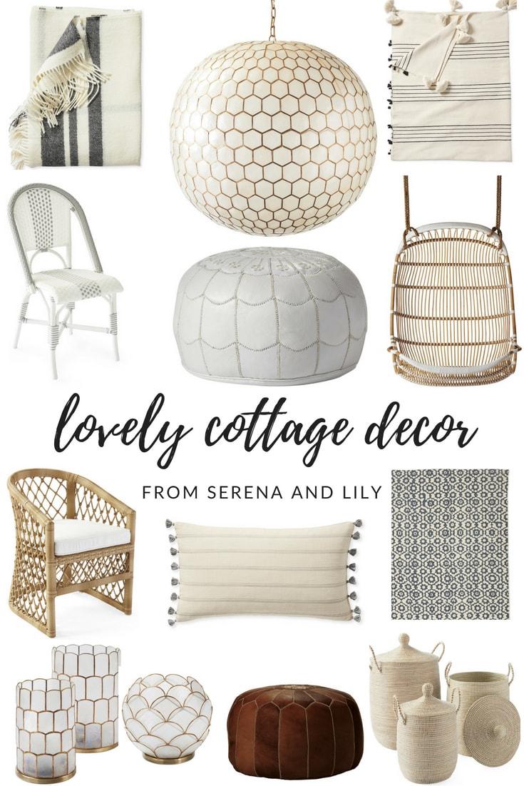 Lovely Cottage Decor – Serena & Lily