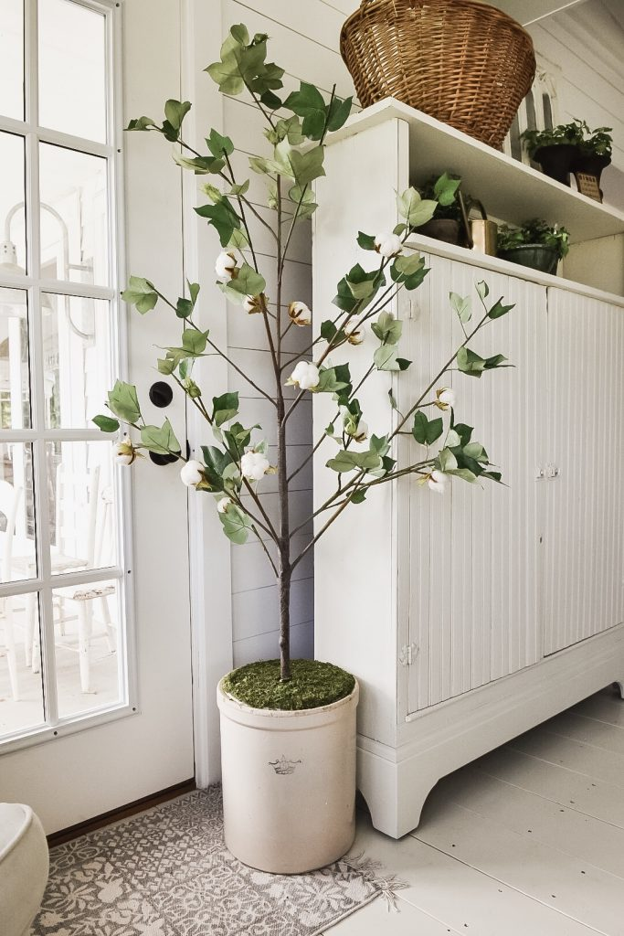 Artificial Tree, DIY Faux Potted Tree