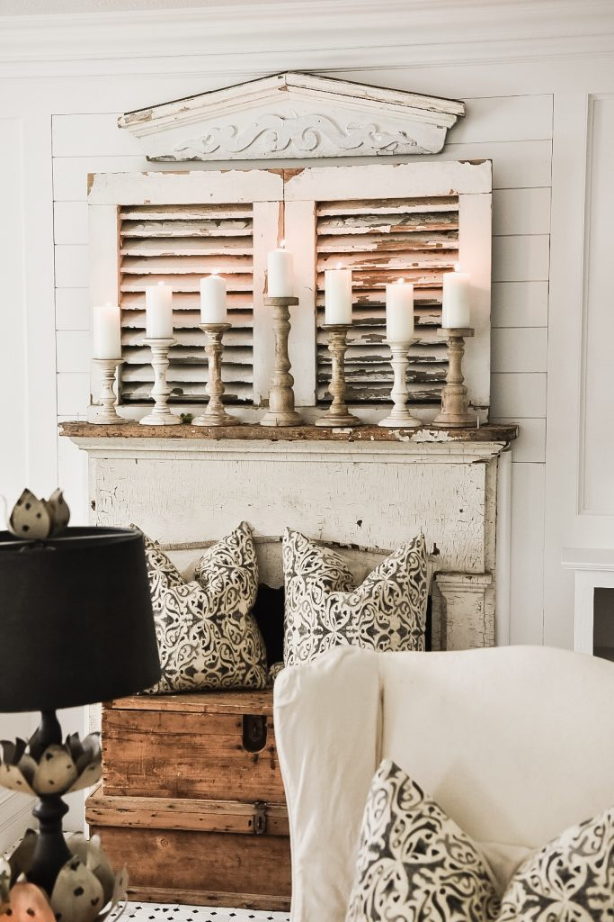 simple ways to style a mantel, Four Simple Ways To Style A Mantel