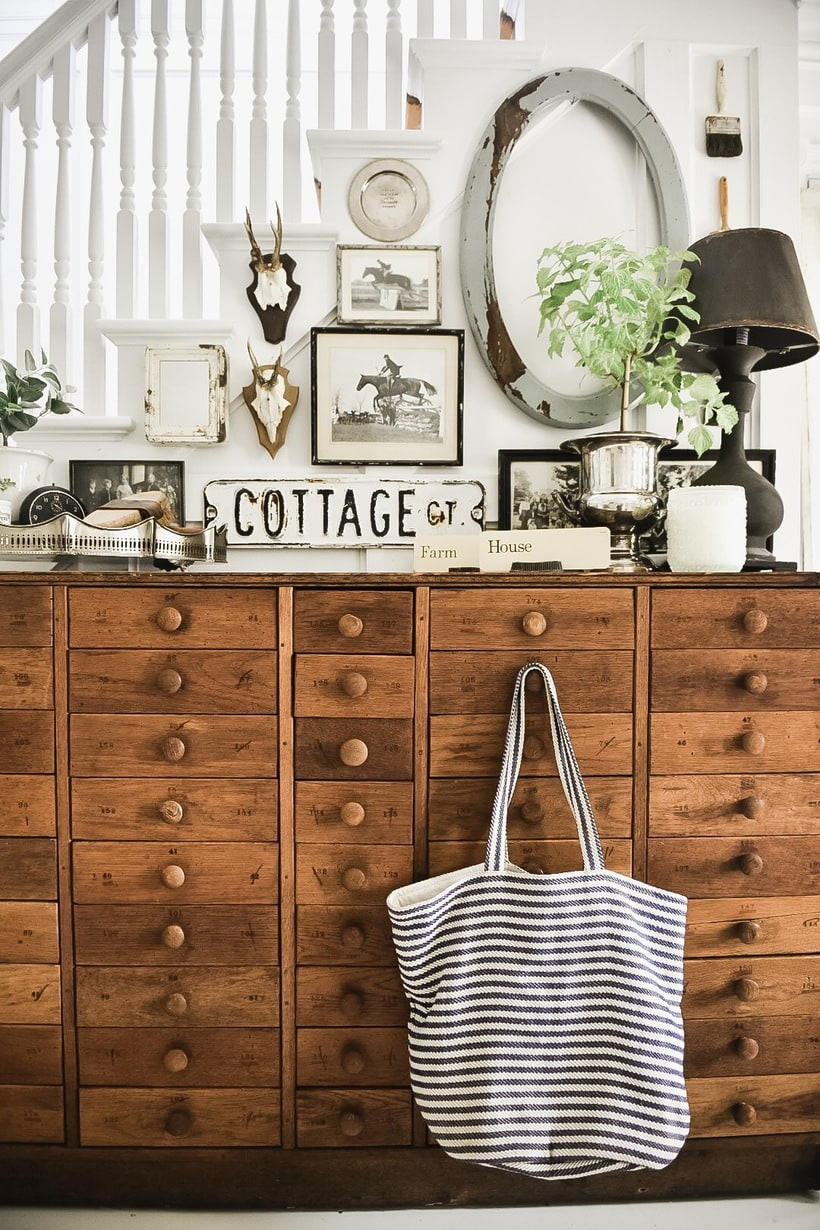 A New Farmhouse Entryway