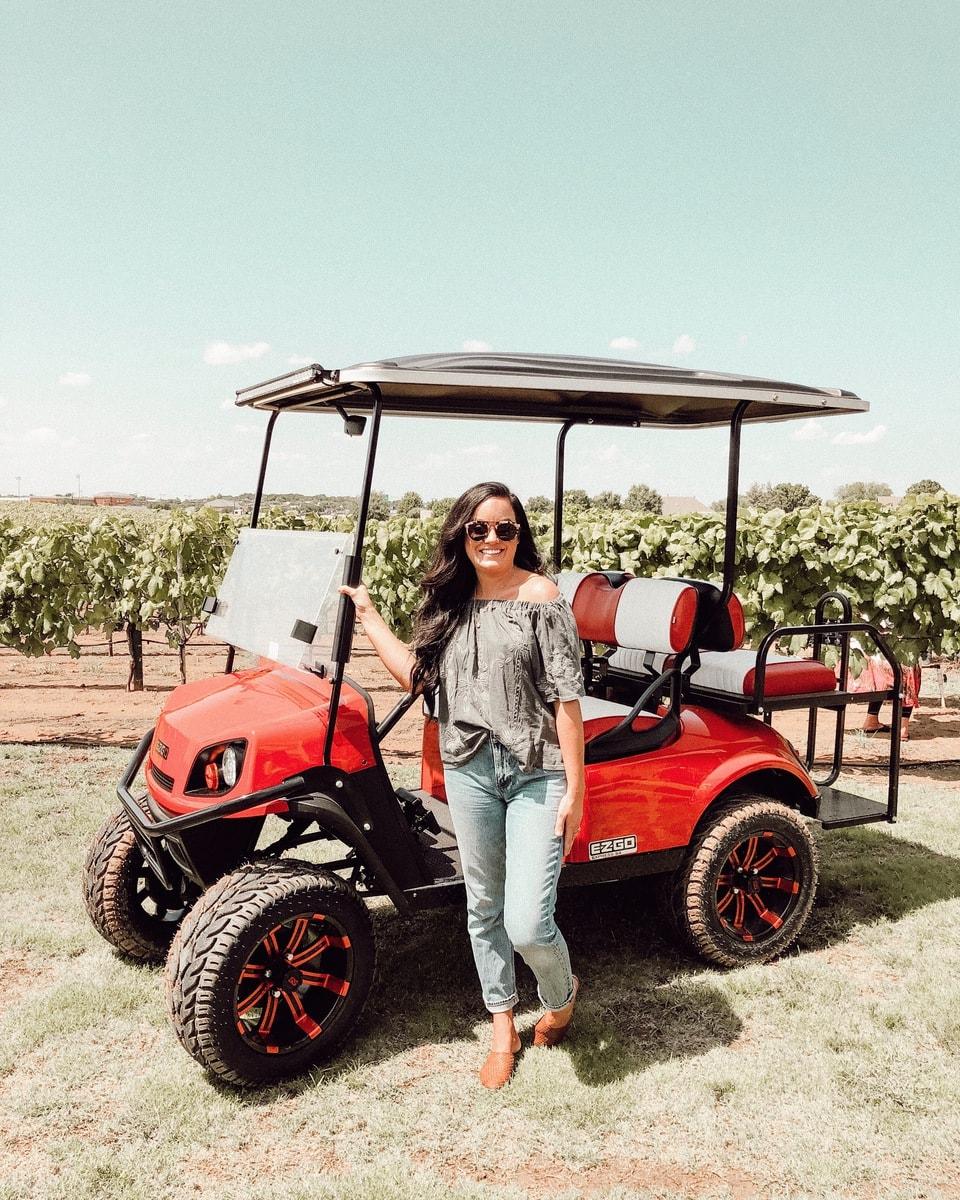 Carting Around Texas Vlog