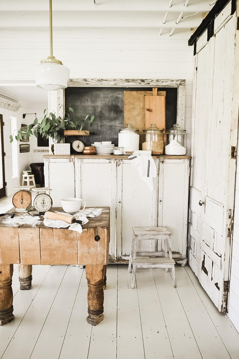 Cozy Cottage Kitchen Corner