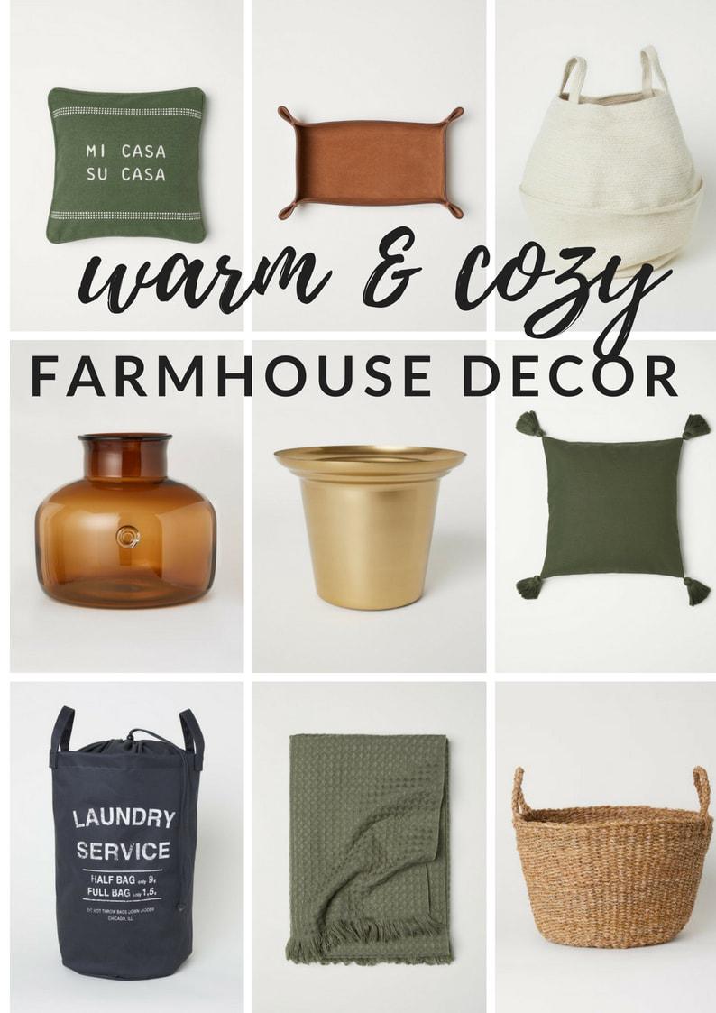 Warm & Cozy Farmhouse Decor