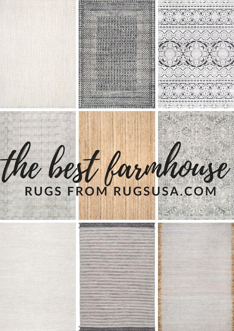 Top 9 Cozy Farmhouse Rugs