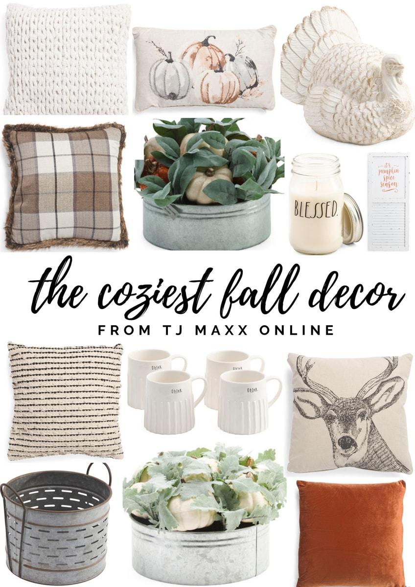 The Coziest Fall Decor From TJ Maxx