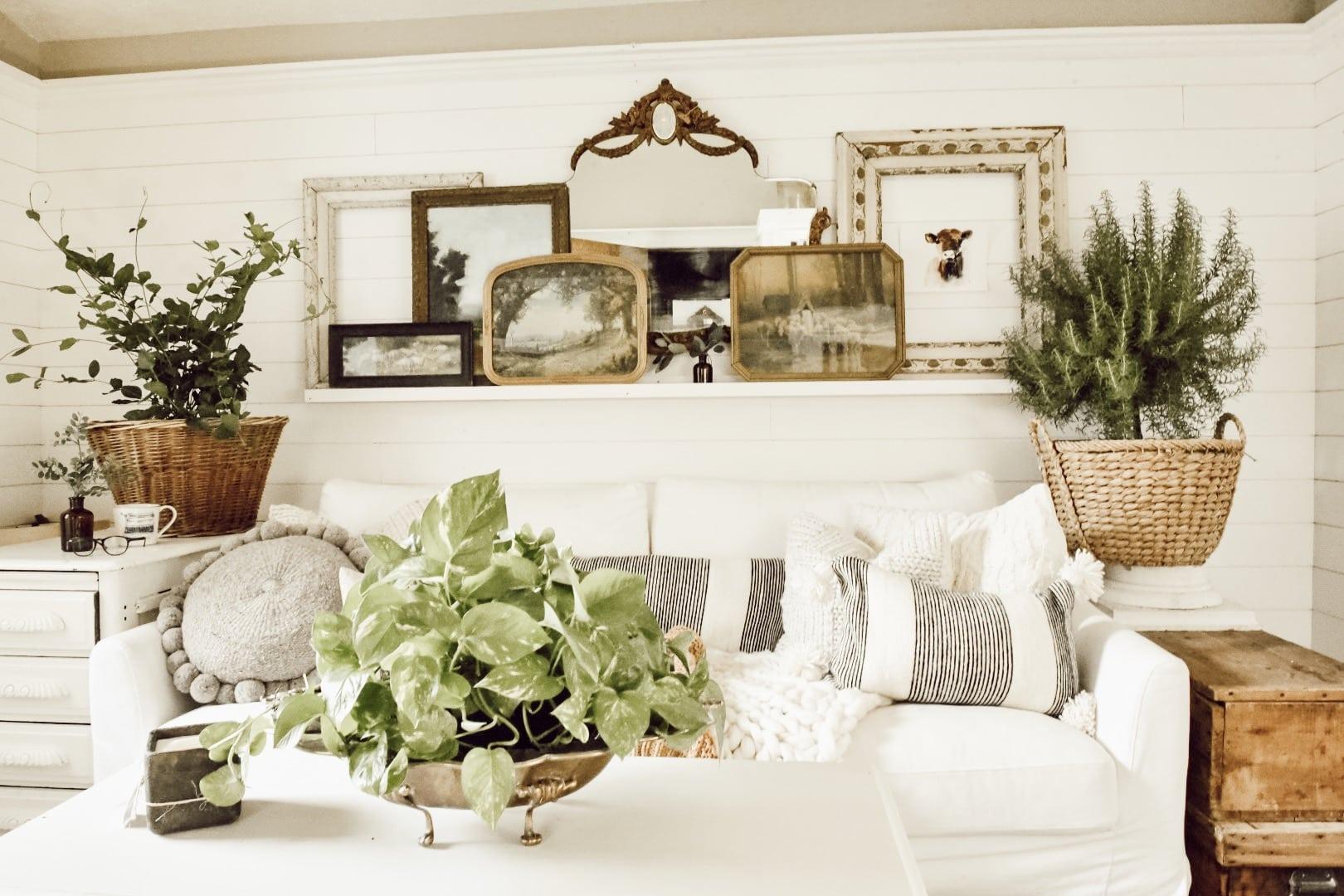 Fall Art Over The Sofa