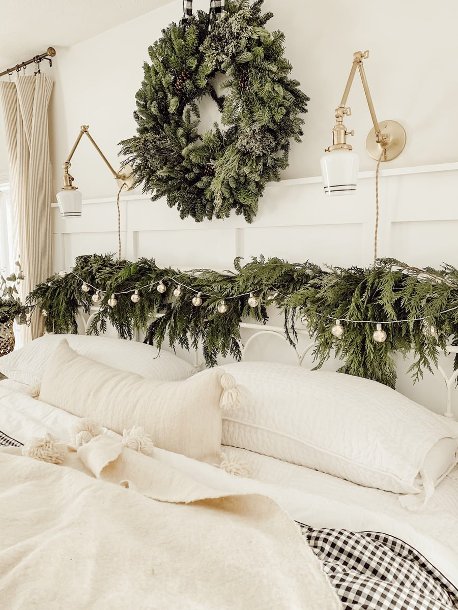 . Cozy Cottage Christmas Bedroom   Liz Marie Blog