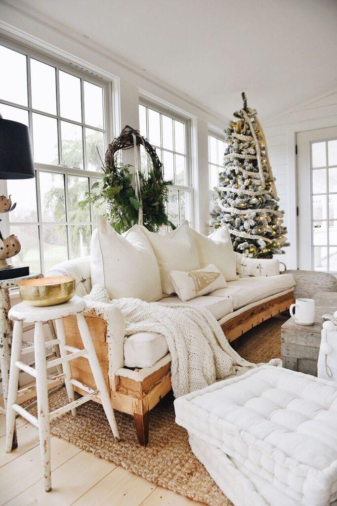 Naked Sofa Christmas Decor