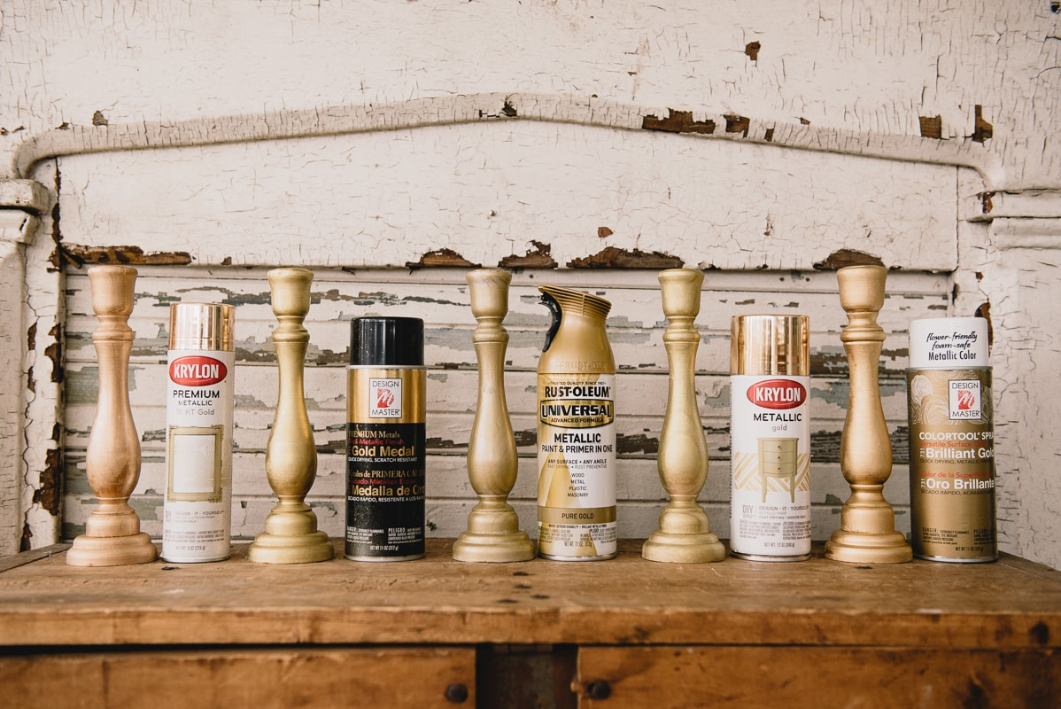 The Perfect Gold Spray Paint for Christmas