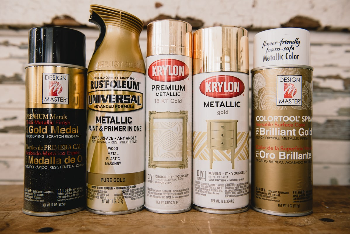 Gold Spray Paint, The Perfect Gold Spray Paint for Christmas