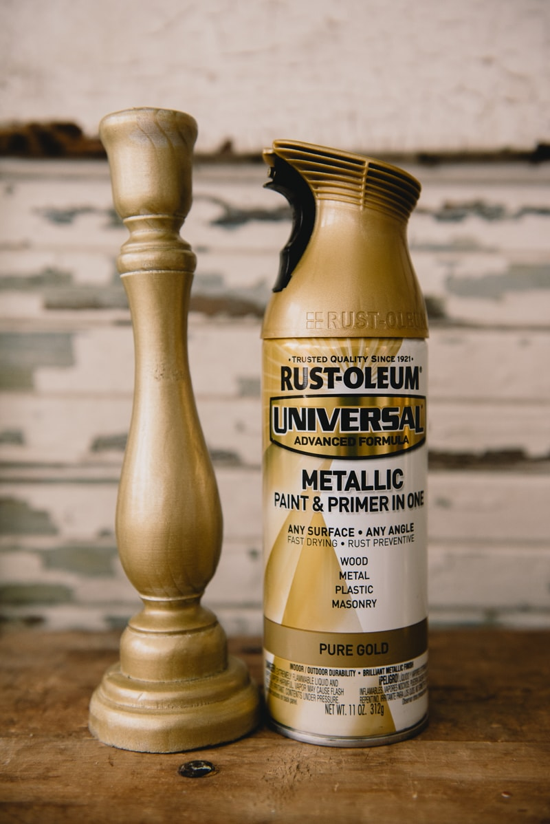 The Perfect Gold Spray Paint For Christmas Liz Marie Blog