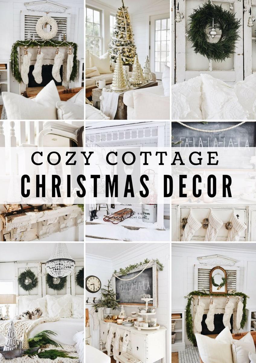 The Best Cozy Cottage Christmas Decor - Liz Marie Blog