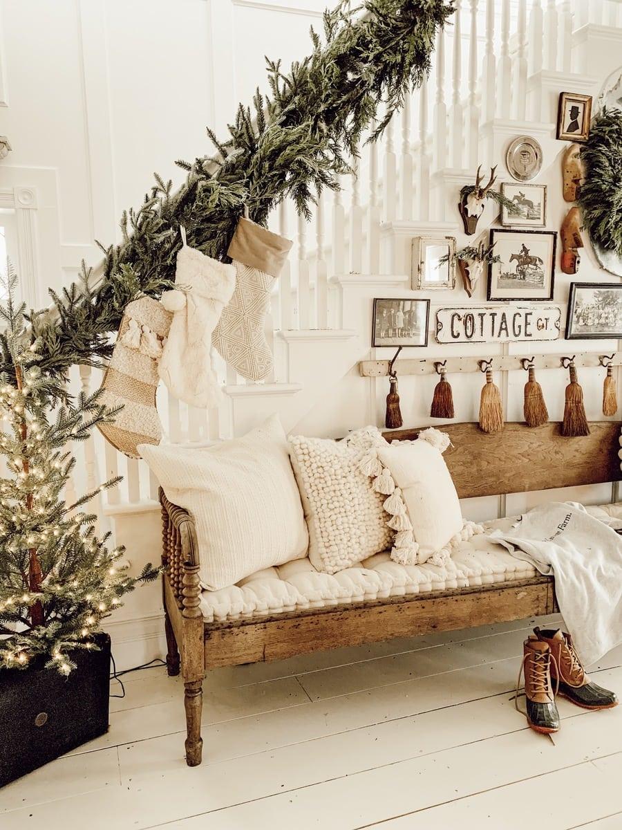 DIY Christmas Garland, DIY Christmas Garland & A Giveaway