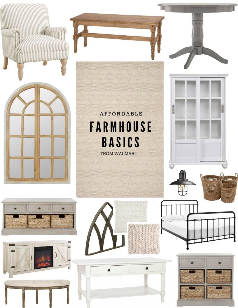 Affordable Farmhouse Basics