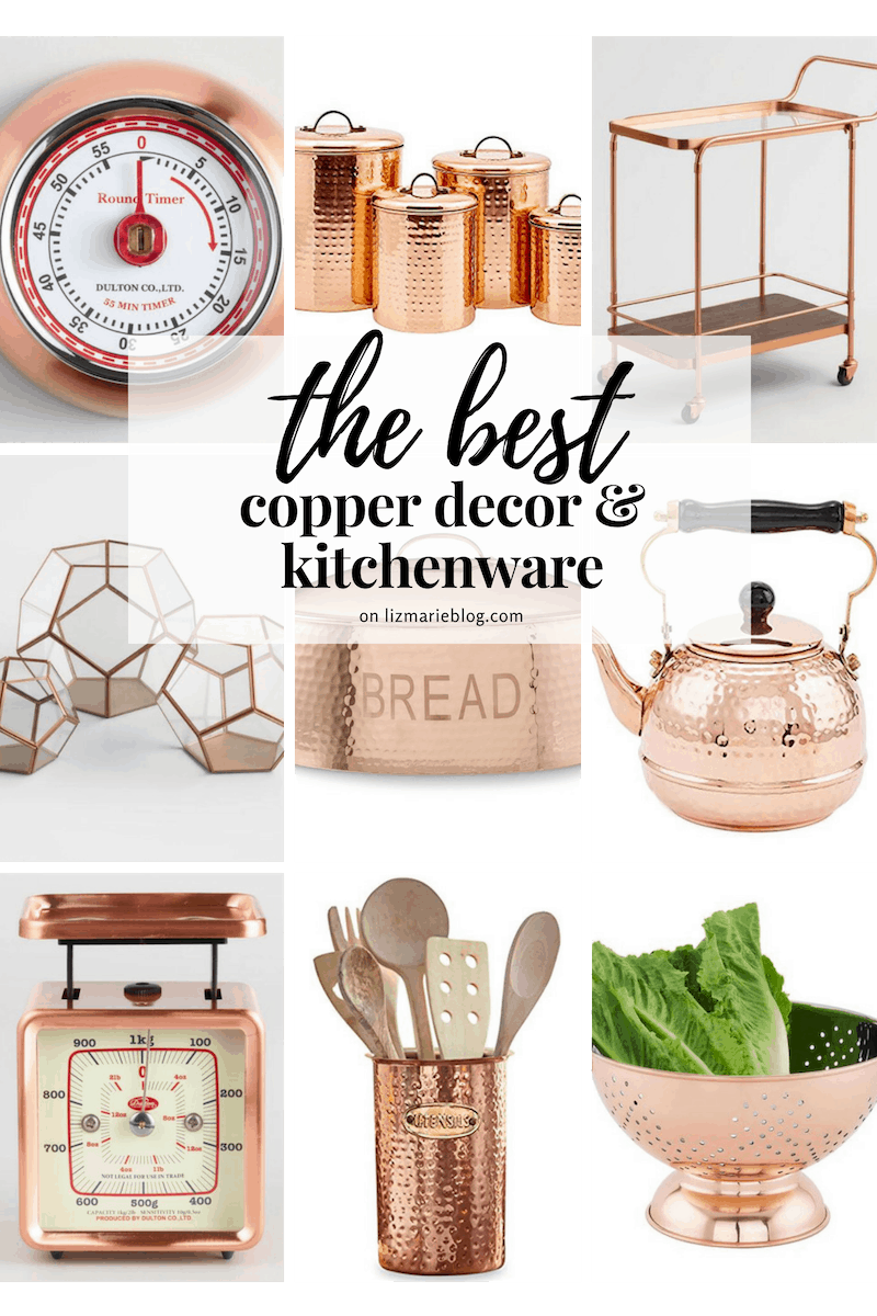 The Best Copper Decor Graphic