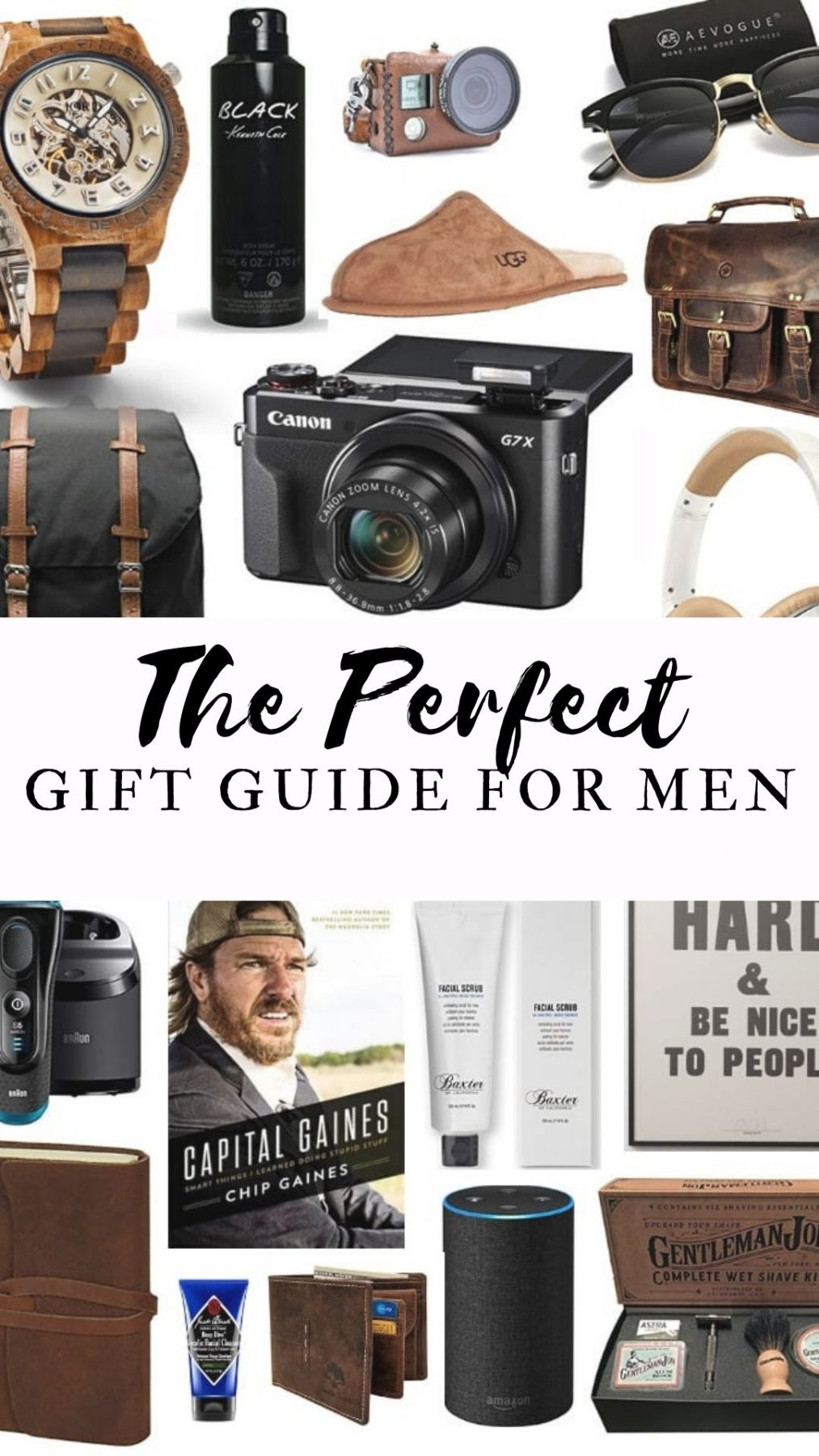 The Perfect Gift Guide for Men