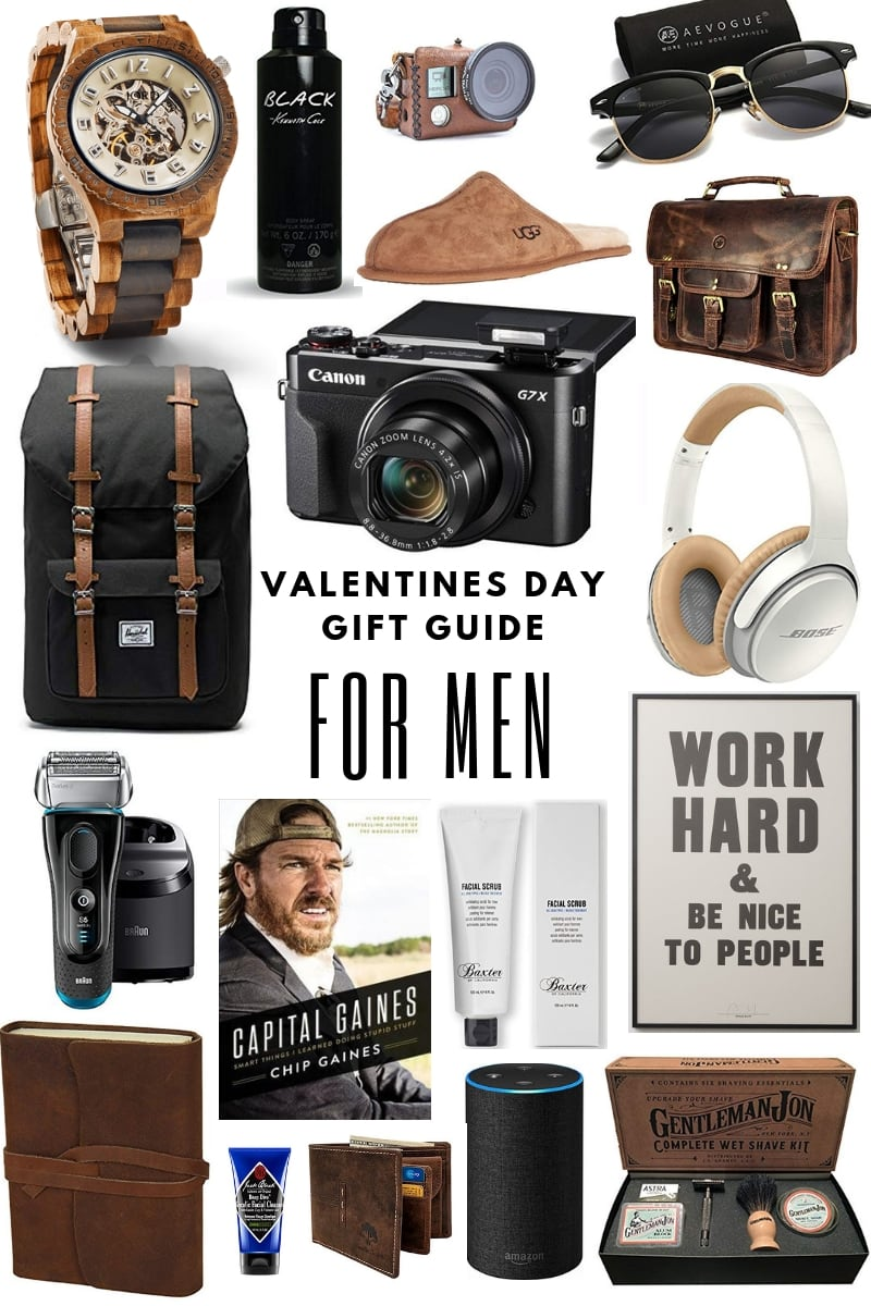 Valentines Day Gift Guide For The Men In Your Life