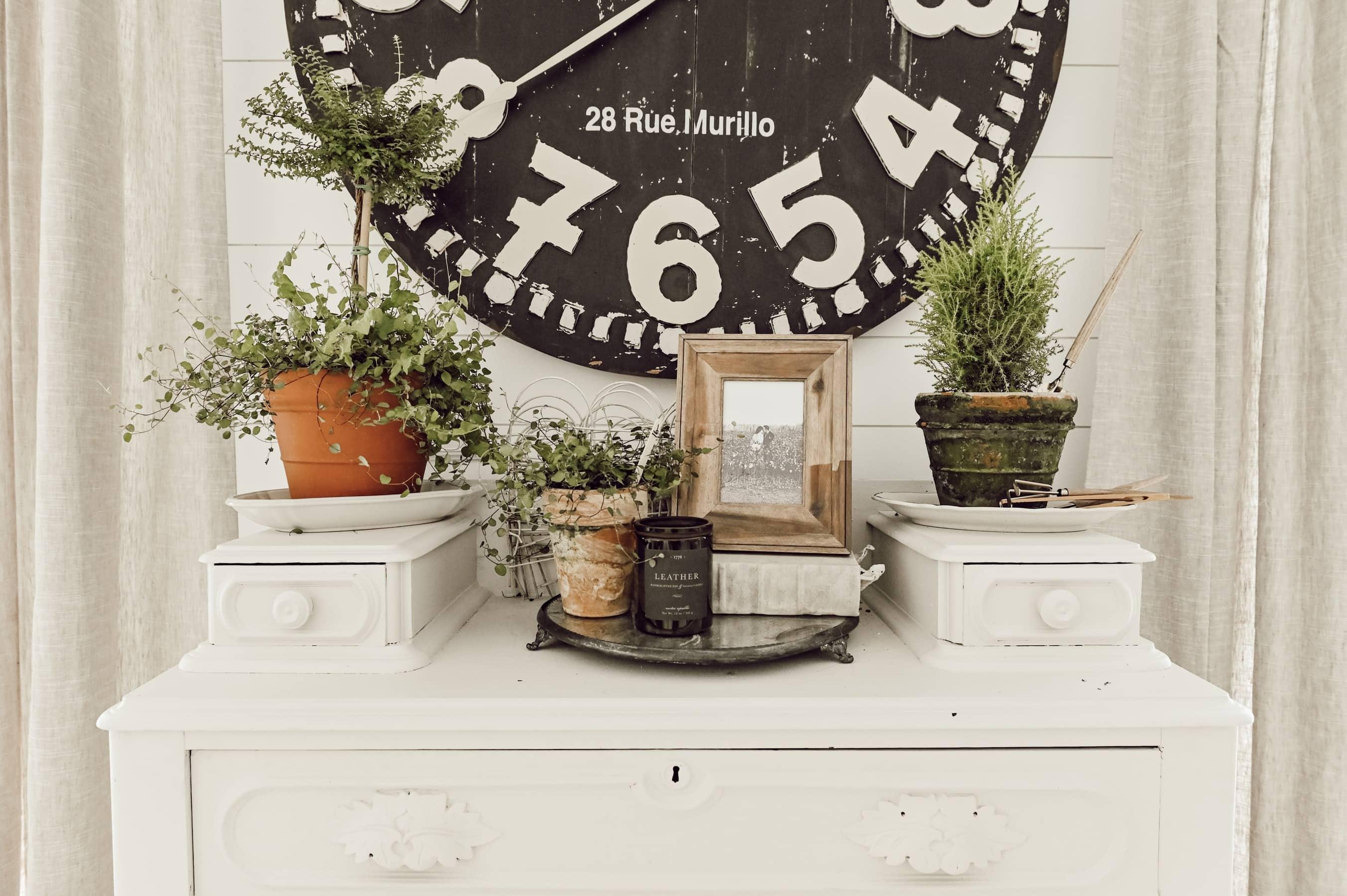 A Spring Cottage Dresser