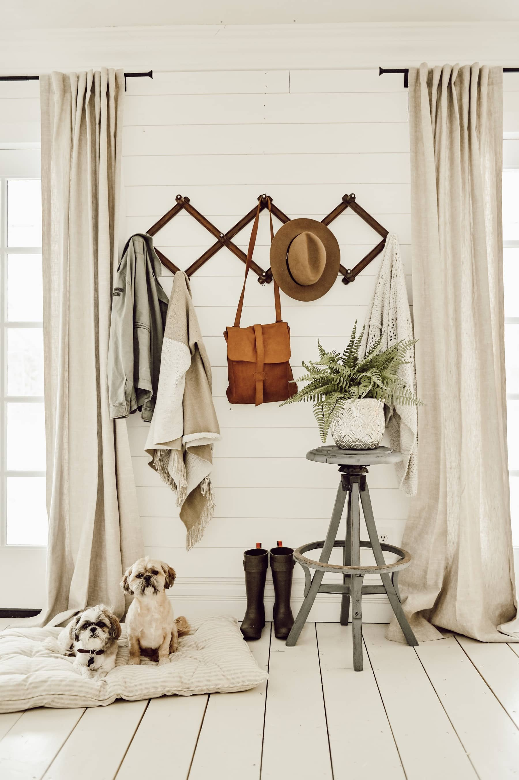 How to Style a Simple Entryway