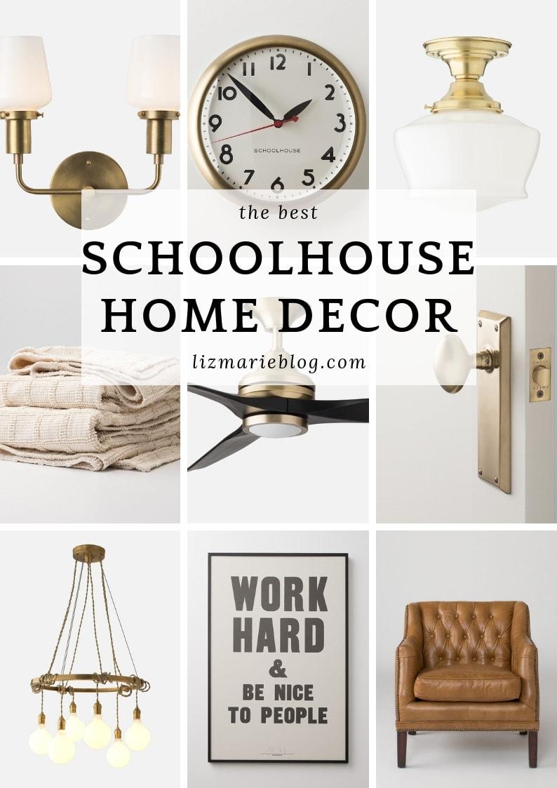 Schoolhouse, Top 20 Schoolhouse Decor Items