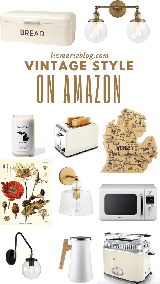Vintage Inspired Kitchen Finds on Amazon