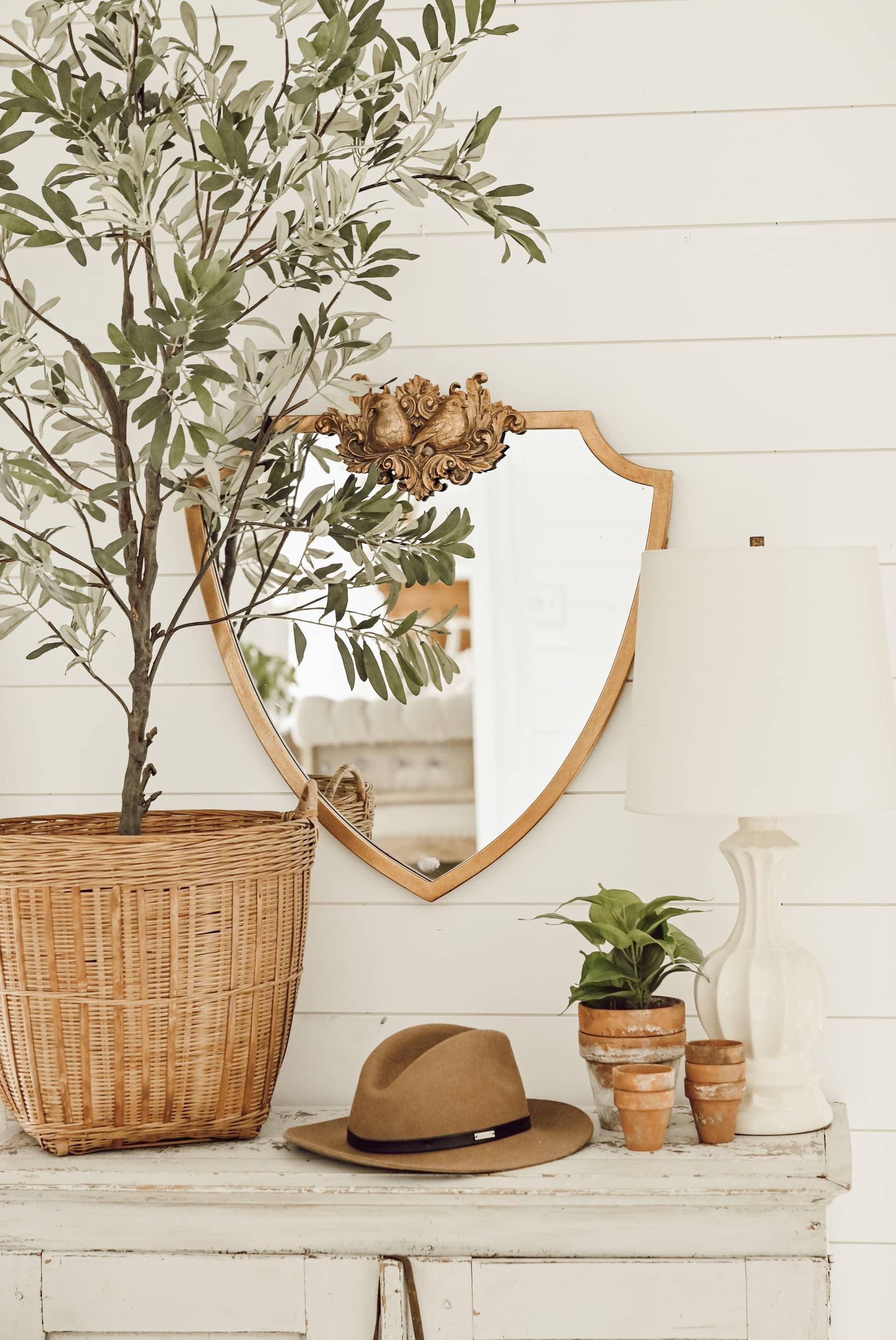 Spring Entryway, A Simple Spring Entryway – Two Ways