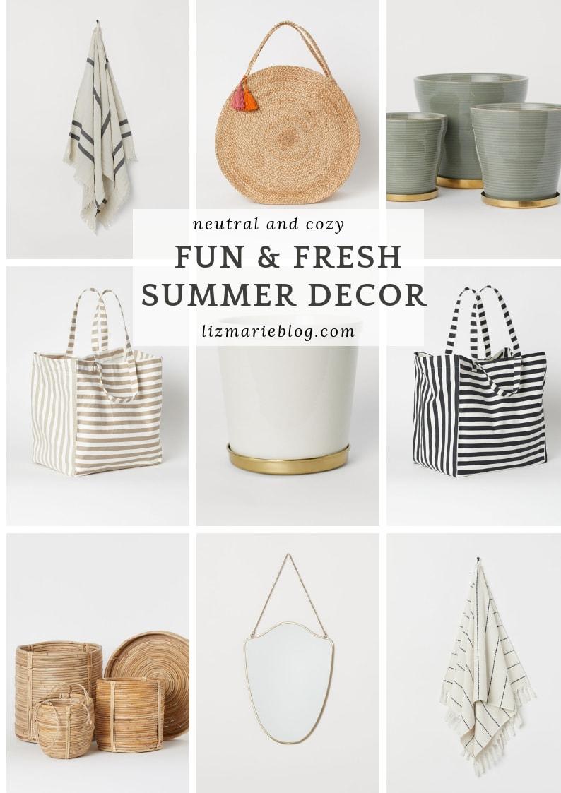 Fun & Fresh Summer Decor