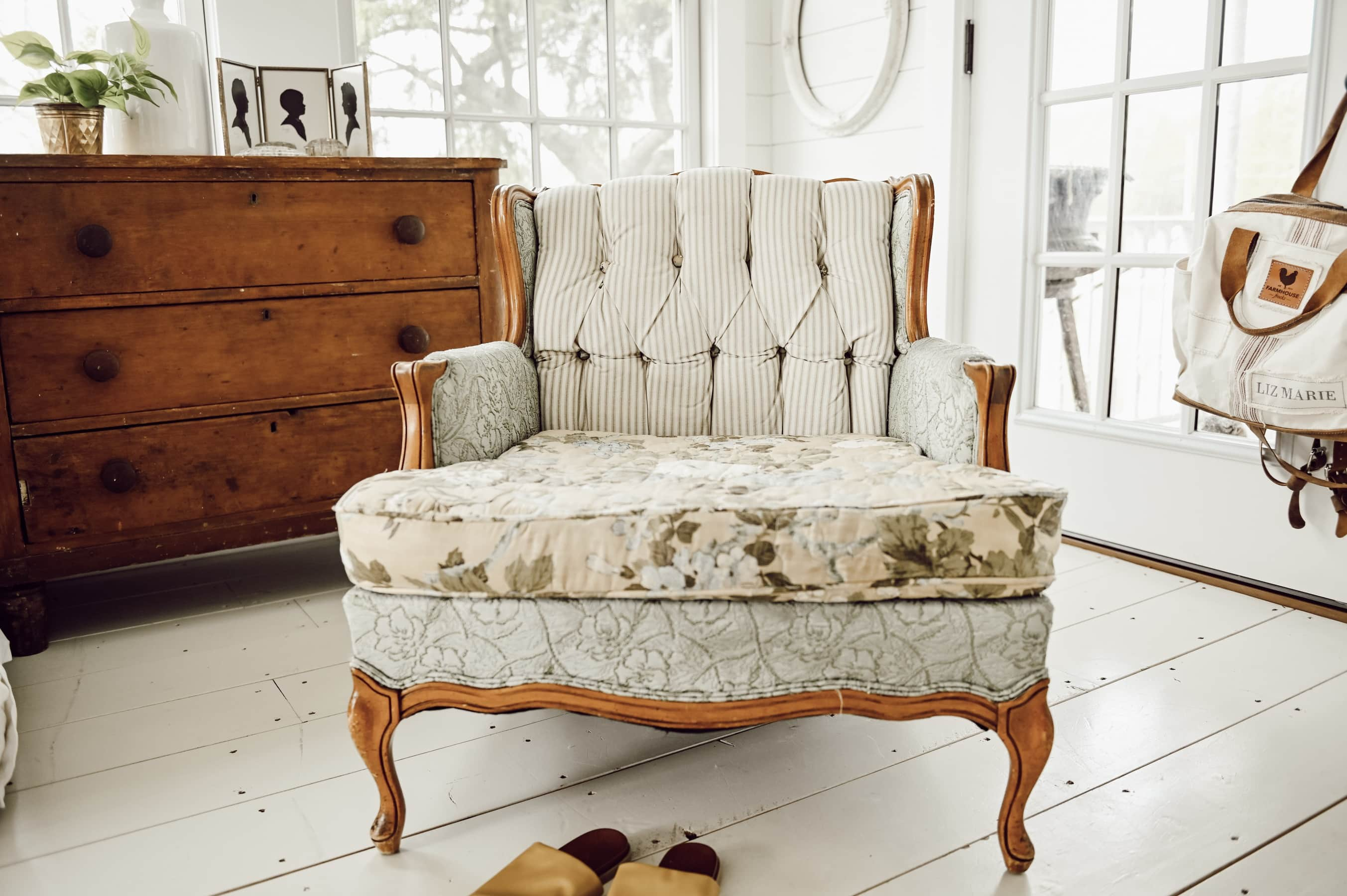 A New Cozy Vintage Chair