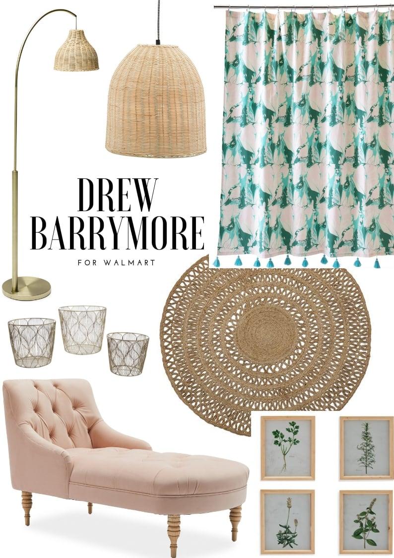 Drew Barrymore For Walmart