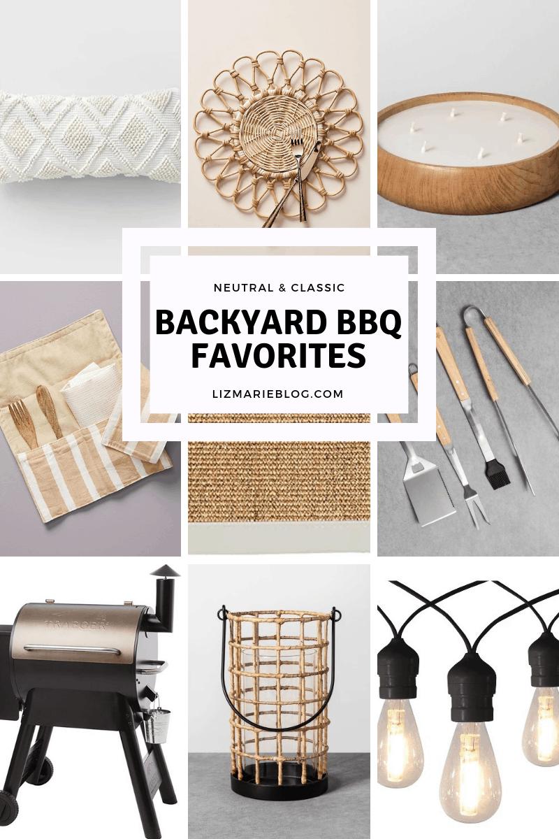 Backyard bbq favorites