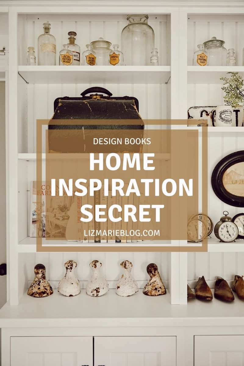 Design books - home inspiration secret