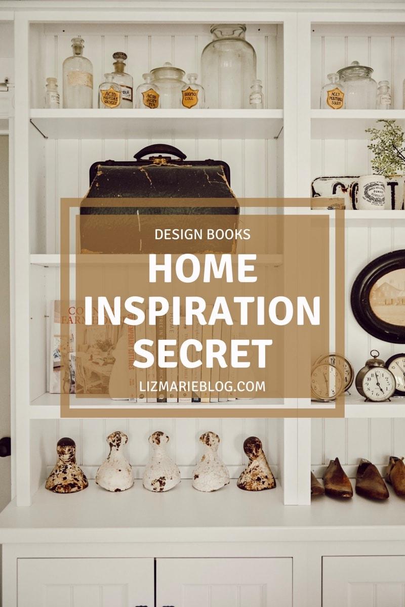 Design books - home inspiration secret