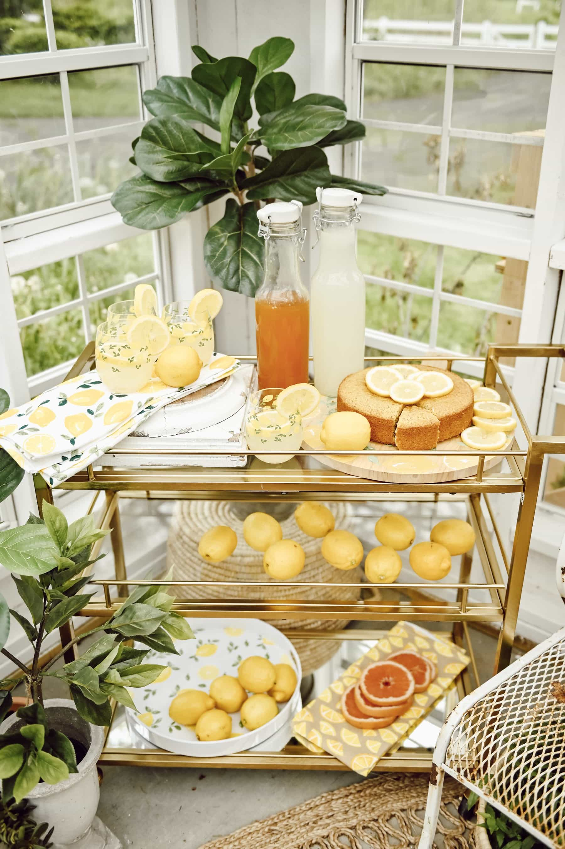 , A Lemon Party In The Greenhouse