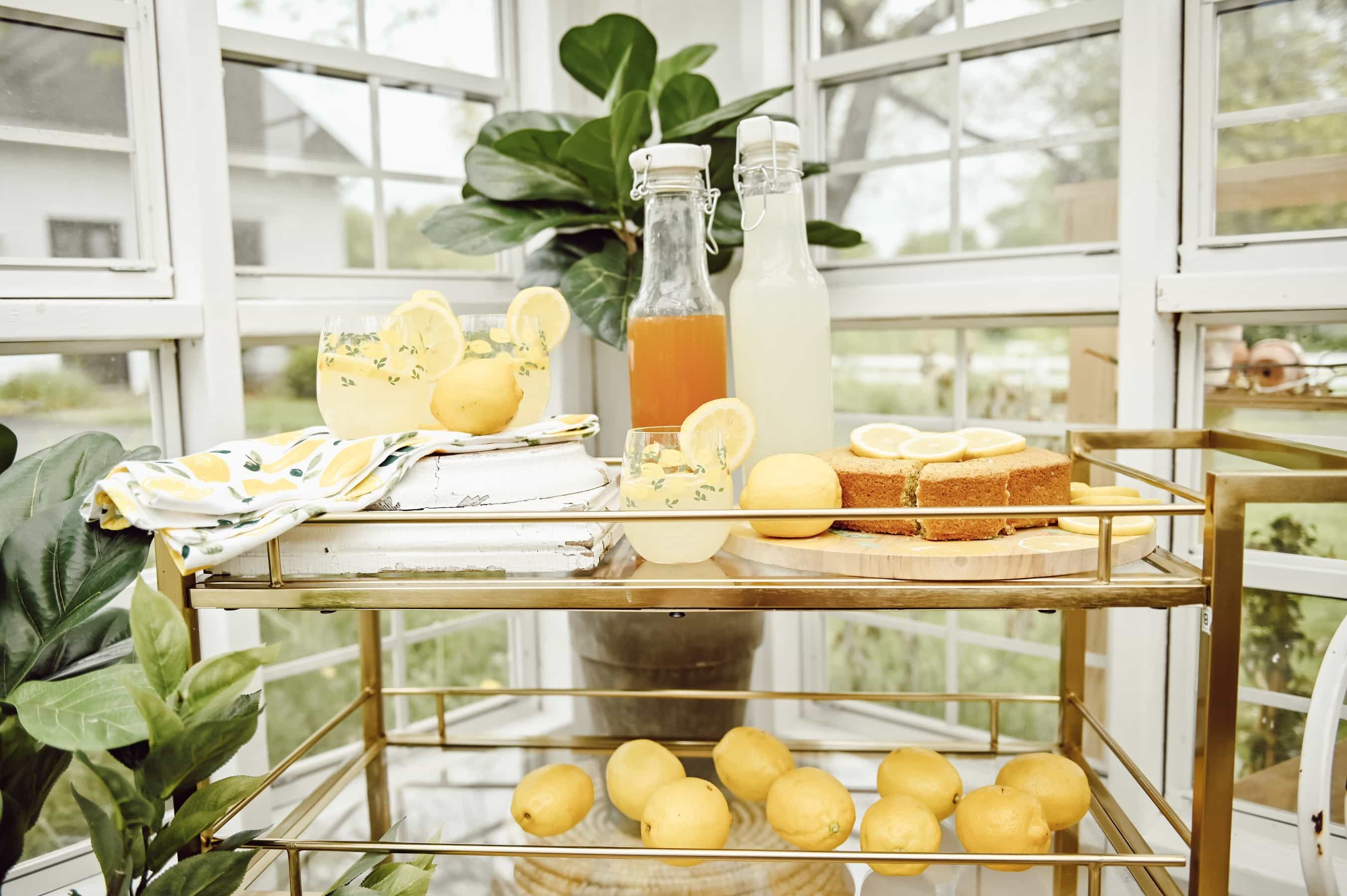 A Lemon Party In The Greenhouse