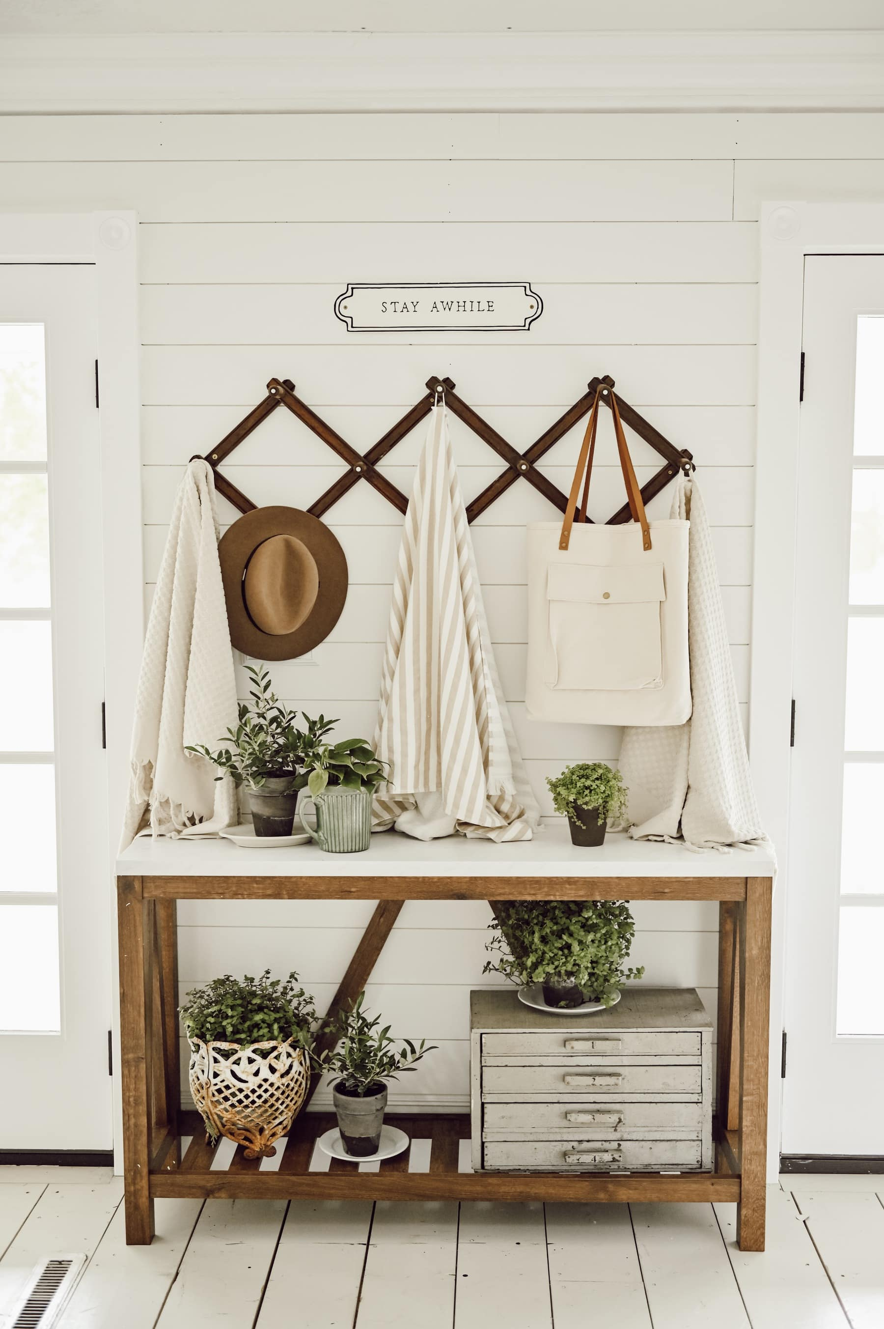 , Summer Entryway Table