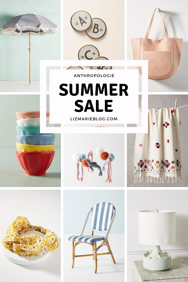 Anthropologie Summer Sale