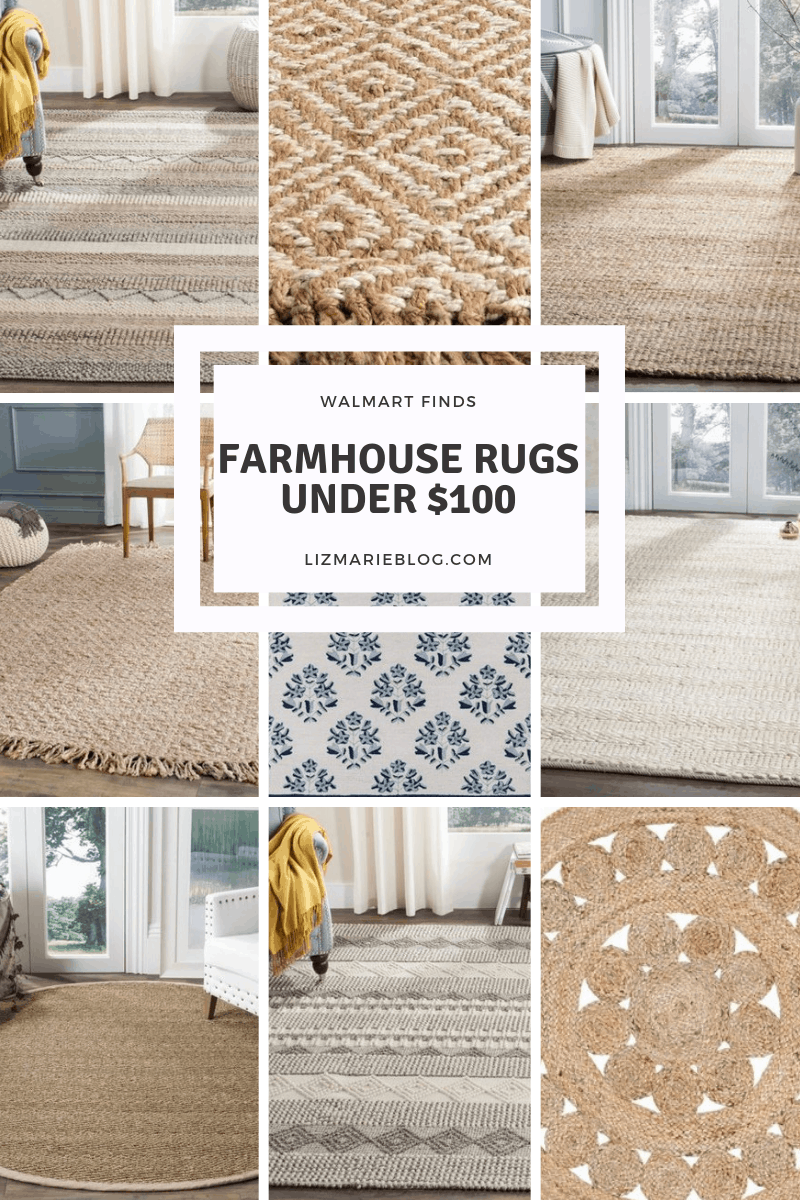 Farmhouse rugs under $100