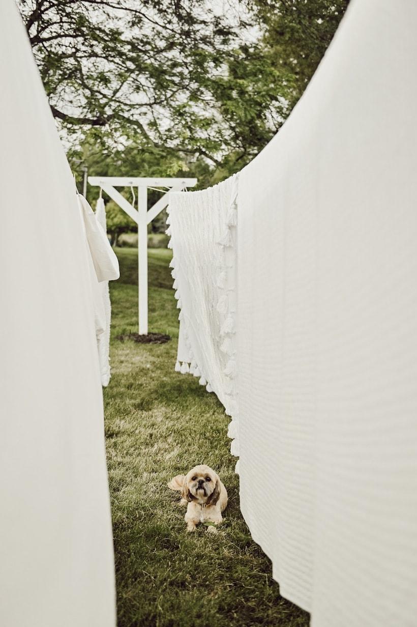 DIY Clothesline, DIY Farmhouse Clothesline