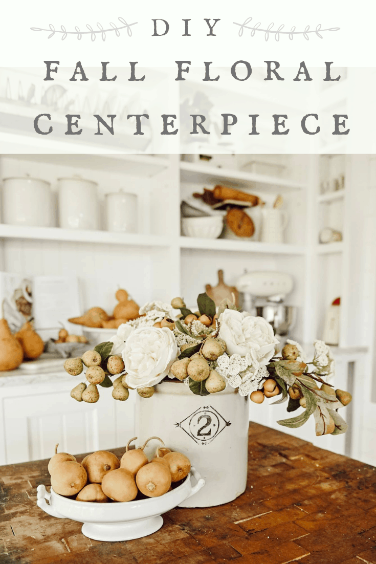 Fall Floral Centerpiece, DIY Fall Floral Centerpiece